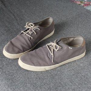 TOMS Men's Carlo Grey Shoes Size 11